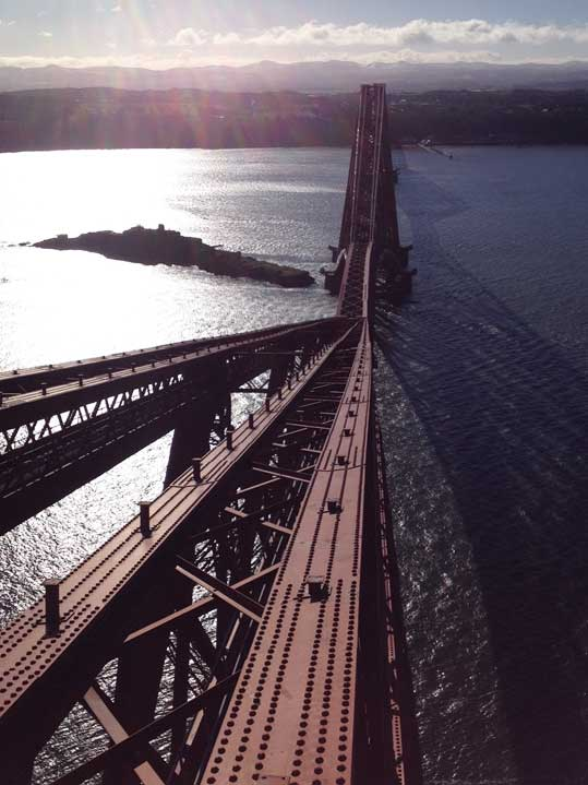 Forth -road -bridge -view -from -top