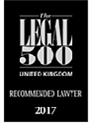 Legal500 Logo - Recommended Lawyer